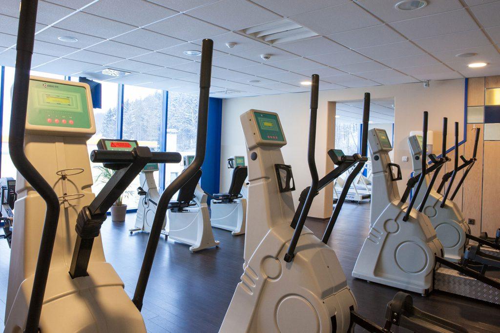 Fitness im Hotel Strohofer