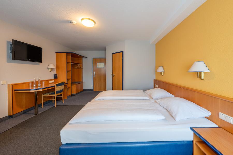 Doppelzimmer Komfort im Hotel Strohofer Geiselwind