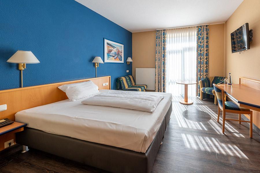Einzelzimmer im Hotel Strohofer Geiselwind